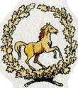 Hier ist das historische Siegel der Brauerei zum Goldenen Ross