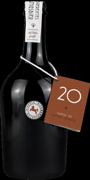 Hier ist eine Flasche Magnus 20